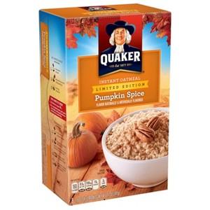 Quaker Instant Oats Pumpkin Spice