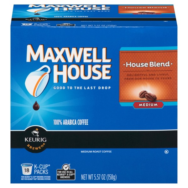 Maxwell House Coffee K-Cups product image