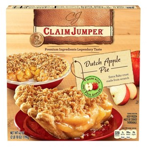 Claim Jumper Frozen Pies