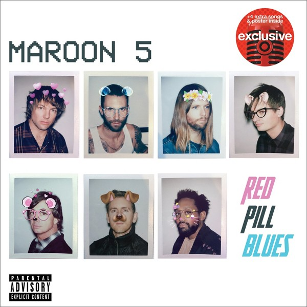 Maroon 5: Red Pill Blues product image
