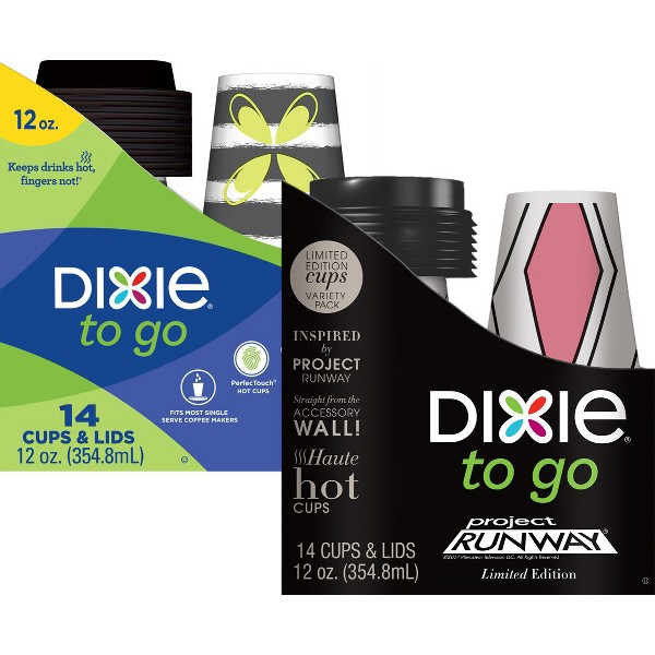 Dixie To Go Hot Cups & Lids product image
