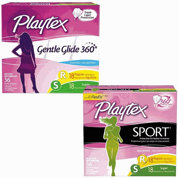 Playtex Gentle Glide or Sport product image
