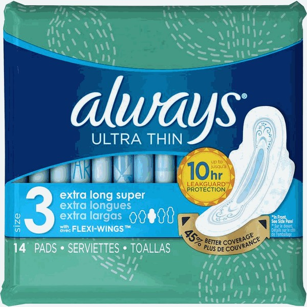 Always Ultra OR Maxi Pads product image