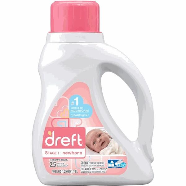 Dreft Newborn Laundry Detergent product image