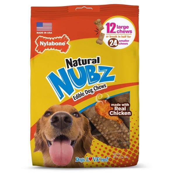 Nylabone Nubz Dog Treats product image