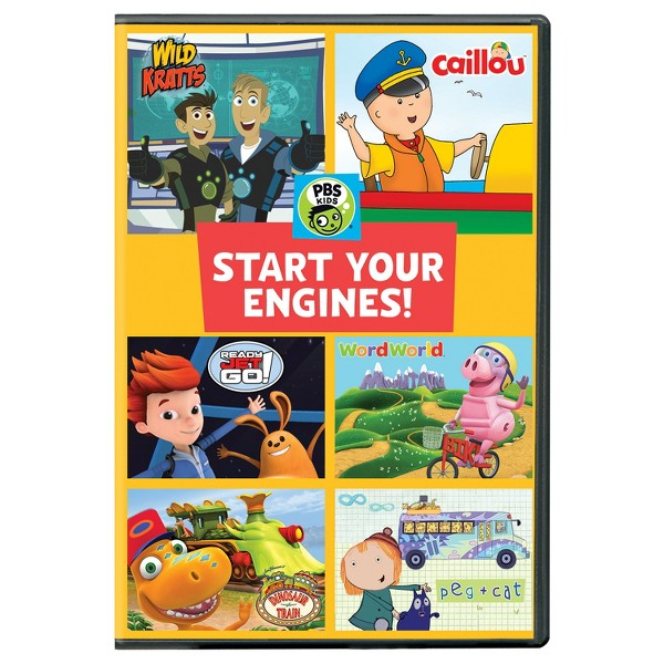 PBS Kids: Start Your Engines product image