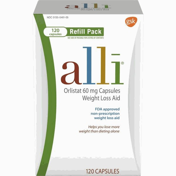 alli OTC weight loss aid product image