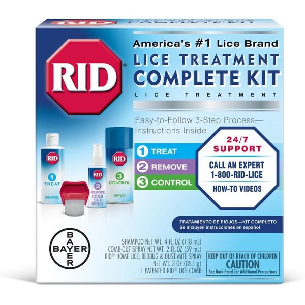 RID Lice Treatment & Shampoo product image