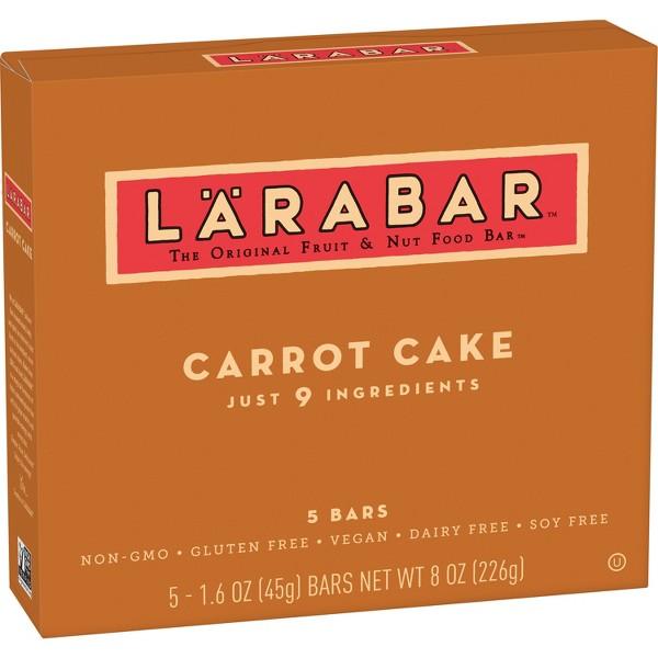 NEW Larabar Carrot Cake product image