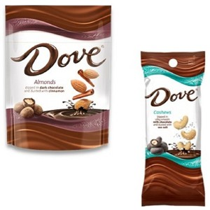 NEW Dove Dusted Almonds & Cashews