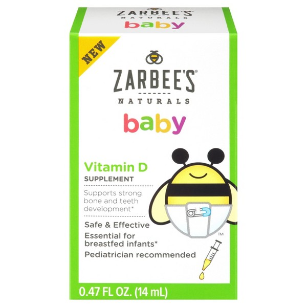 Zarbee's Baby Vitamin D product image