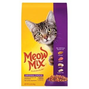 Meow Mix Dry Cat Food