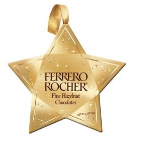 Ferrero Rocher Star Ornament