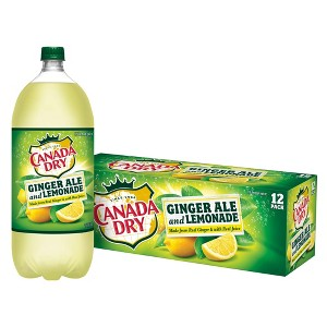 NEW Canada Dry + Lemonade