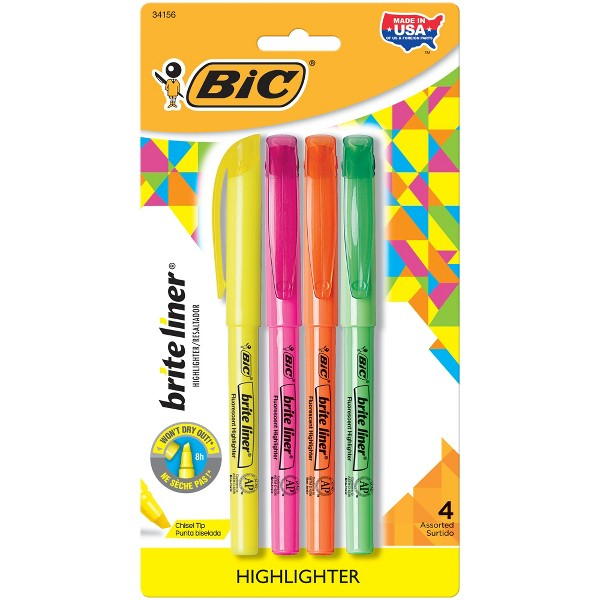 BIC Brite Liner Highlighter product image