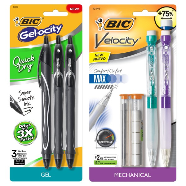 BIC Gelocity & Velocity product image