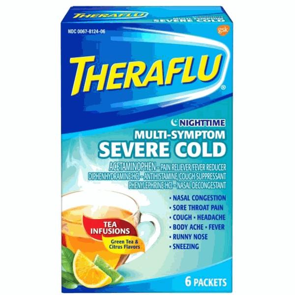 Theraflu Hot Liquid Powder product image