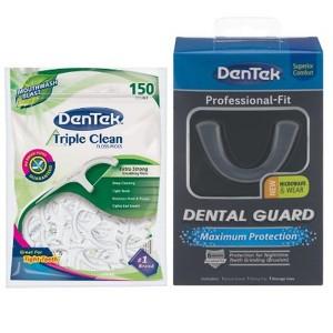 DenTek Picks, Brushes & Guards