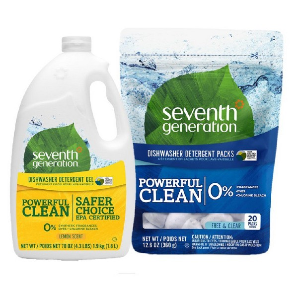Seventh Generation Dish Detergent product image