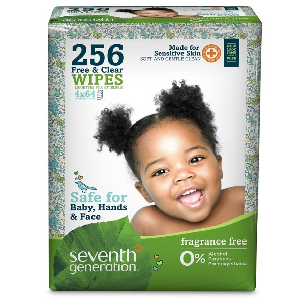 Seventh Generation Baby Wipes product image