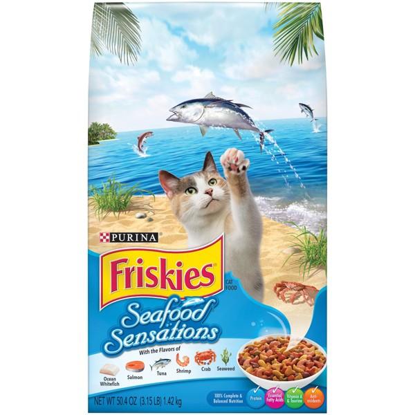 Purina Friskies Dry Cat Food product image