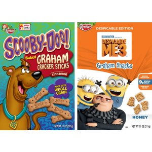 Scooby & Despicable Me Grahams