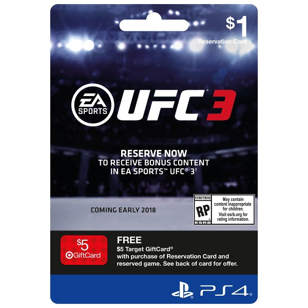UFC3 SE Pre-Sell Card product image
