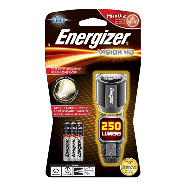 Energizer Vision HD Flashlight product image