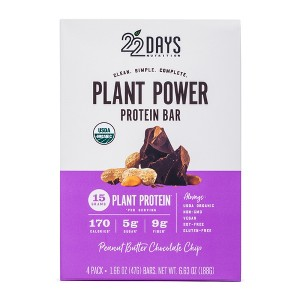 22 Days Plant Power Protein Bars