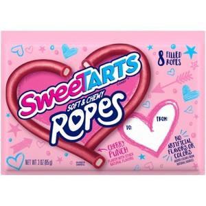 Nerds & SweeTARTS Valentine Ropes