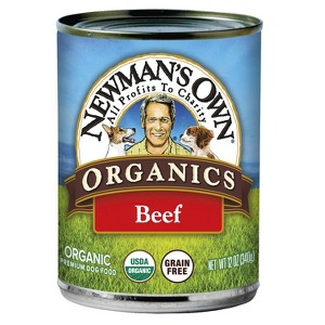Newman's Own Canned Dog Food