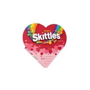 Skittles Valentine's Heart Box