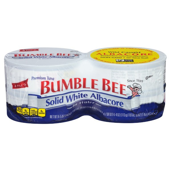 Bumble Bee Solid White 4 Pk product image