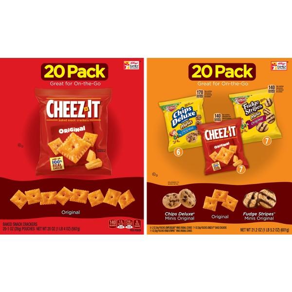 Cheez-It & Keebler Multi-Pks product image