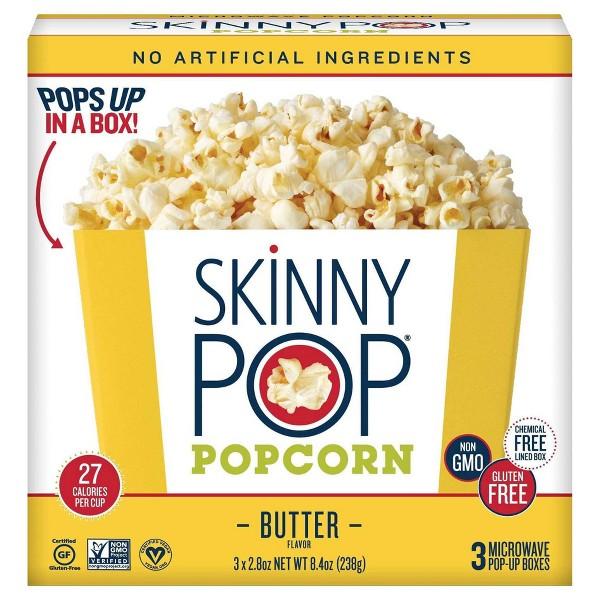 SkinnyPop Microwave Popcorn product image