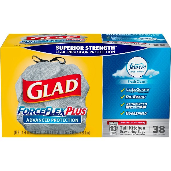 Glad ForceFlex+Adv Protection Bags product image