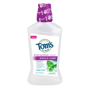 Tom's of Maine WholeCare Mouthwash