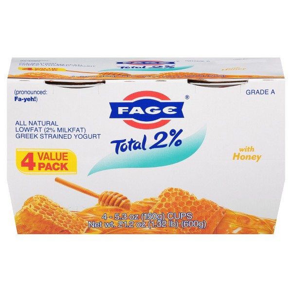 FAGE Total Greek Yogurt 4 Pks product image