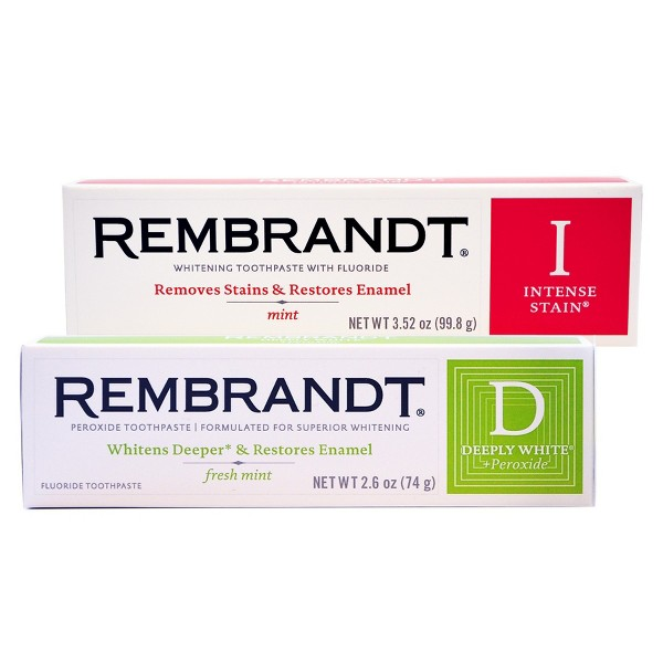 Rembrandt Whitening Toothpaste product image