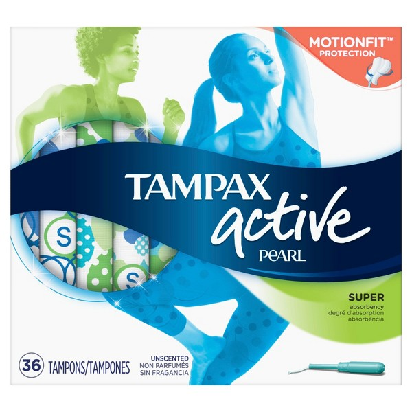 Tampax Pearl Active Tampons product image