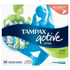 Tampax Pearl Active Tampons