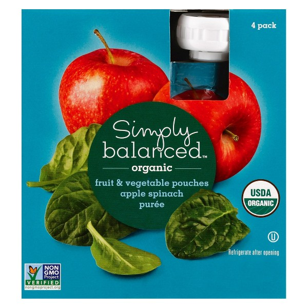 Simply Balanced Fruit Pouches product image