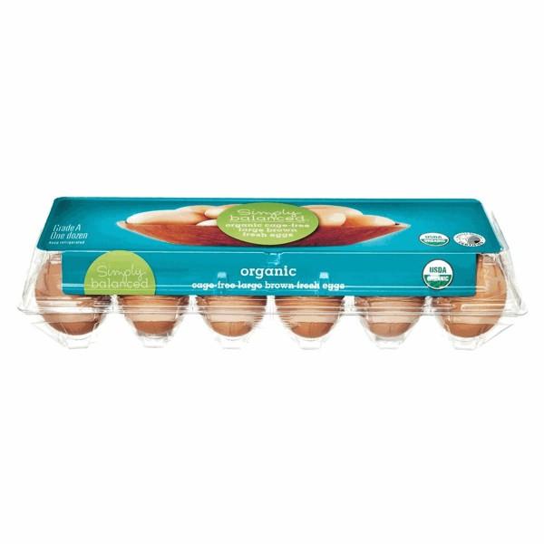 Simply Balanced Organic Eggs product image