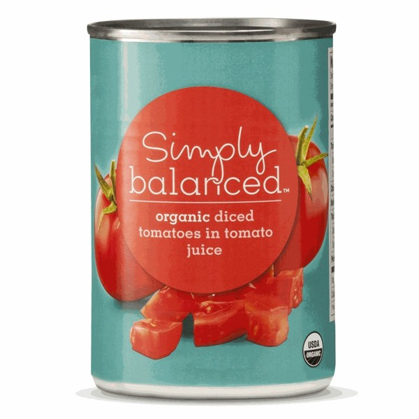 Simply Balanced Canned Tomatoes product image