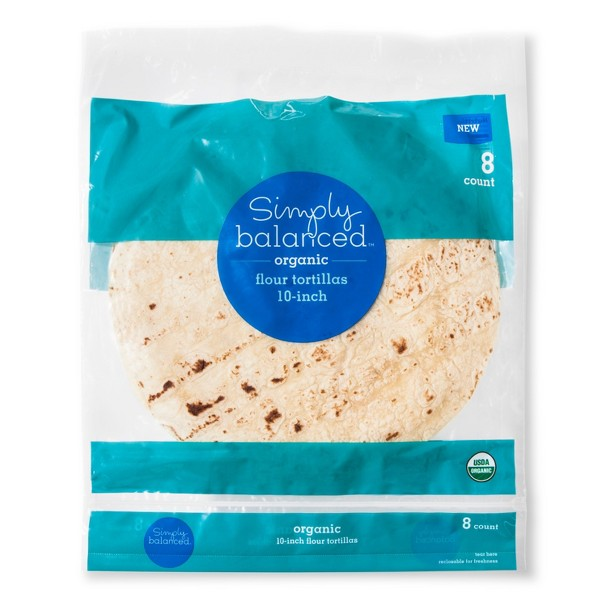 Simply Balanced Tortillas product image