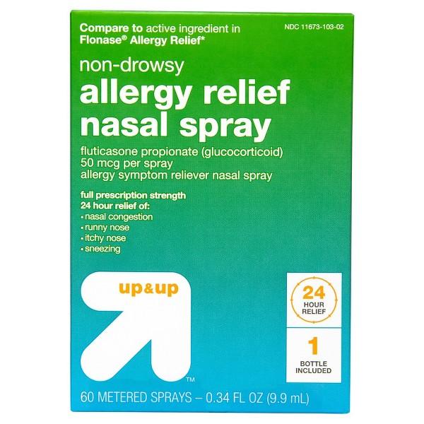 up & up Fluticasone Nasal Spray product image
