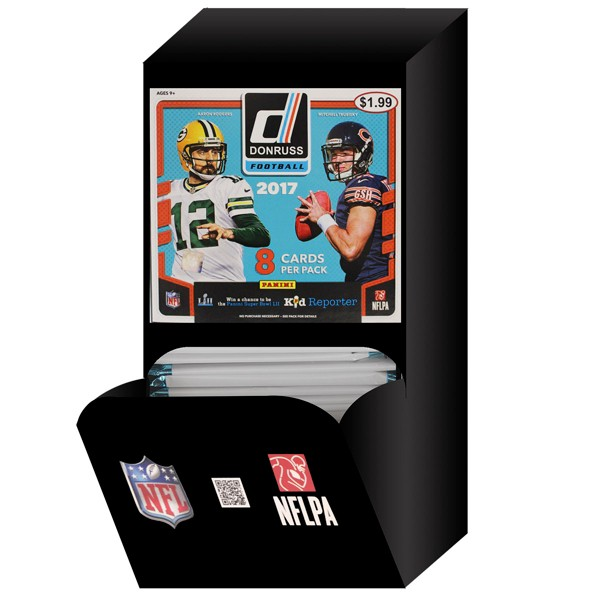2017 NFL Donruss Football Pack product image