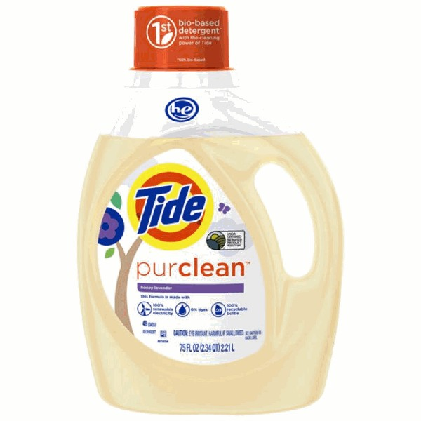 Tide Purclean Laundry Detergent product image