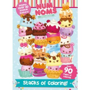 Num Noms Stacks of Coloring