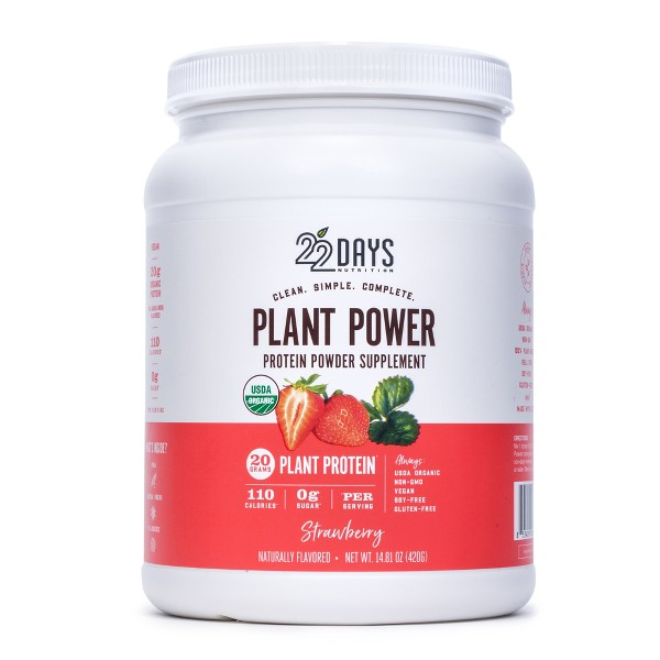 22 Days Plant Power Protein Powder product image